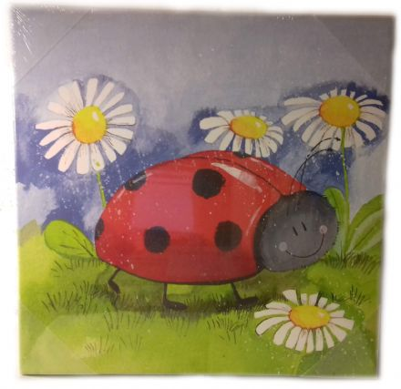 Little Ladybird Medium Canvas